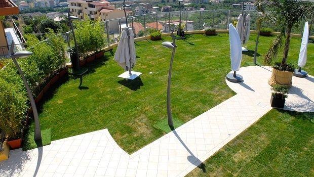 Tetto verde: un giardino pensile come copertura di casa