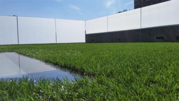 Un tetto verde può diventare uno spazio per il loisir