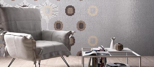Collezione di mosaici serie Round di Mosaico+