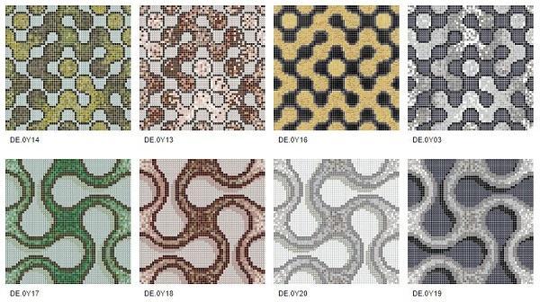 Collezione Round di Mosaico+