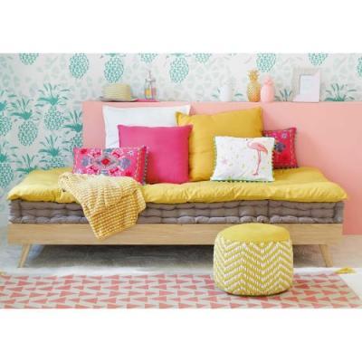 Materasso a pavimeto su divanetto di Maisons du Monde