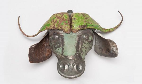 Il trofeo a testa di bisonte di Mahatsara