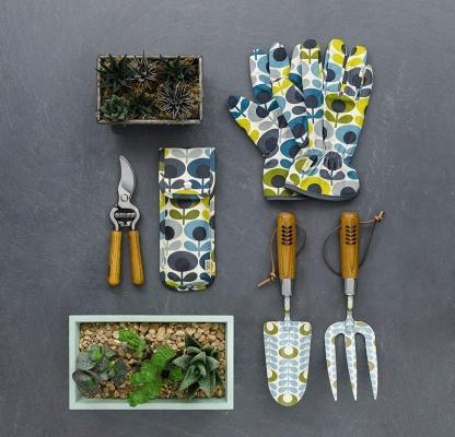 Stampa floreale per questi guanti da giardino
