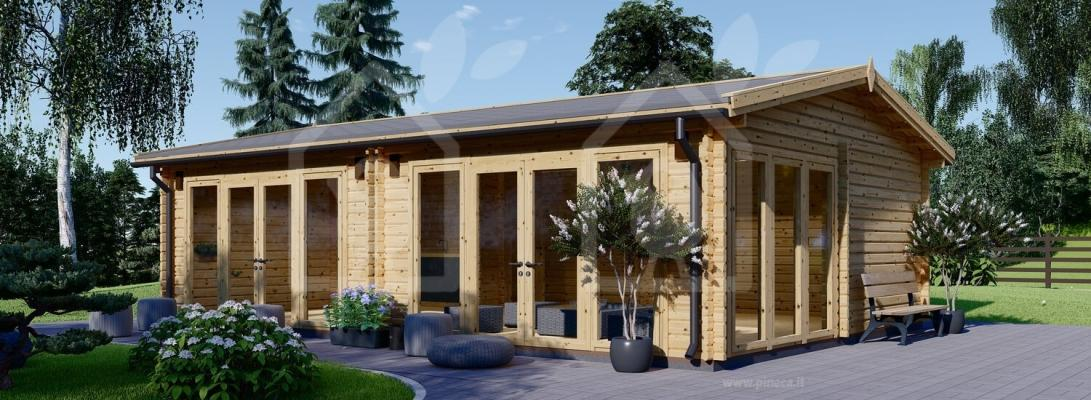 Una seconda casa in legno, bella ed ecosostenibile