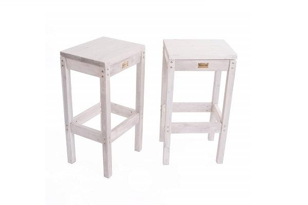 Sgabelli Shabby set Oslo da Amazon