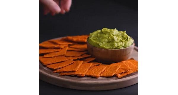 Riciclo alimenti snack carota da Blossom