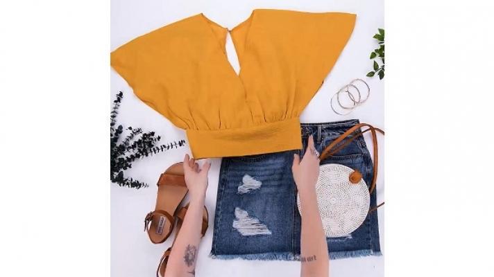 Riciclo colore arancio da Blossom