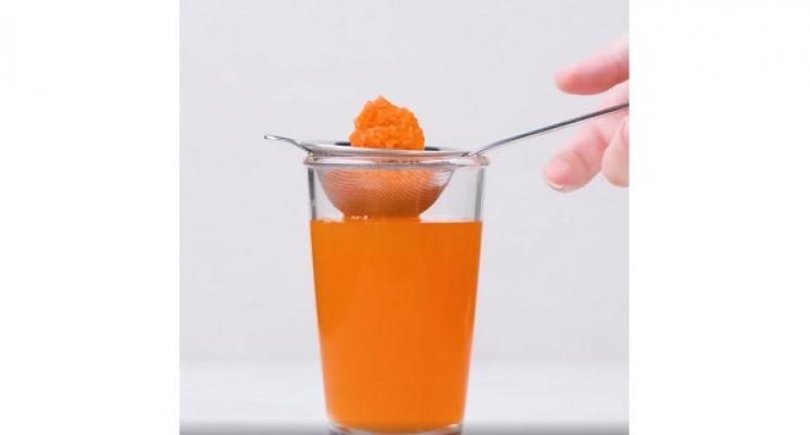 Riciclo polpa carote da Blossom