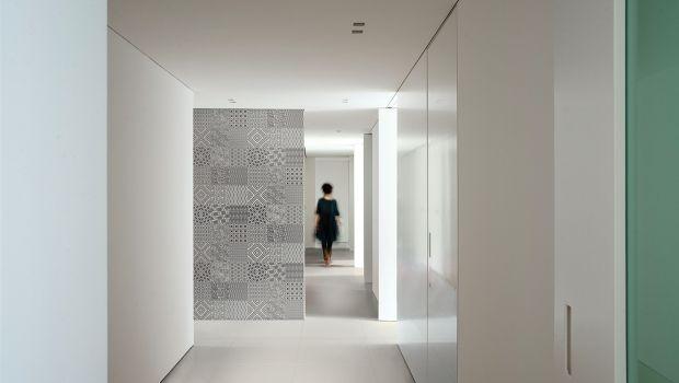 Gres porcellanato sottile e resistente come rivestimento per la casa