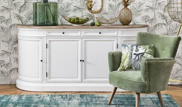Credenza in stile shabby chic-provenzale Provence - Design e foto by Maisons du Monde