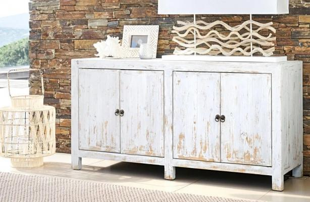 Mobile buffet Jasmine in stile shabby chic - Design e foto by Maisons Du Monde
