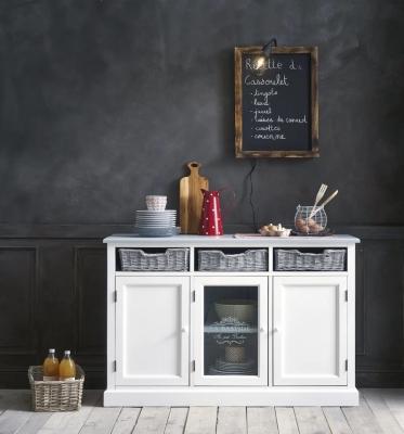 Credenza bassa shabby chic Garrigue - Design e foto by Maisons Du Monde
