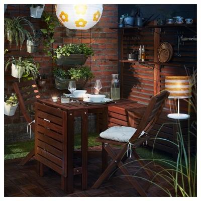 Set da esterni ÄPPLARÖ, perfetto per orto verticale - Design e foto by IKEA