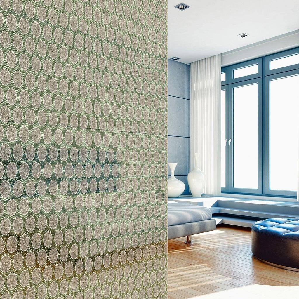 Soluzioni per bagni en suite: divisorio vetro e tessuto Lamimartex - Glas Marte GmbH