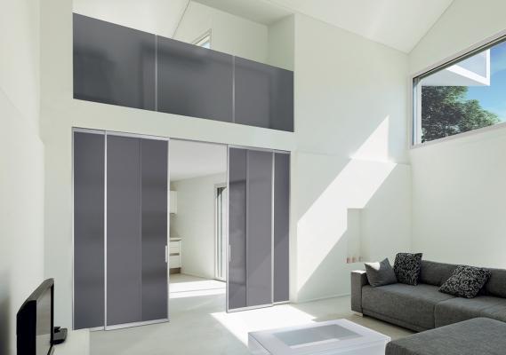 Scorrevoli per bagno en suite e open space: i-Frame 07 Bianco, by Casali