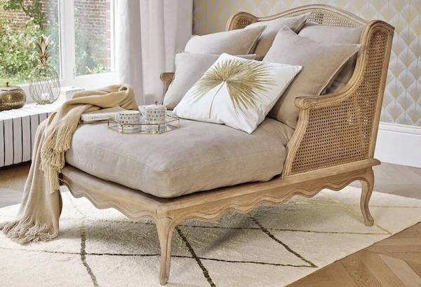 Chaise longue classica Meredith - Design e foto by Maisons Du Monde