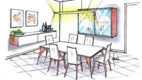 Sala da pranzo: soluzioni d'arredo su misura
