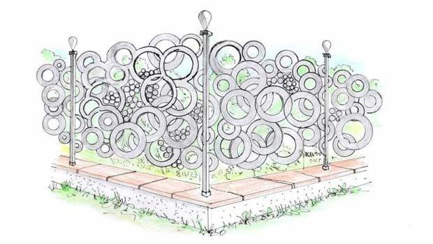 Recinzioni frangivista in metallo: schermi decorativi per esterni