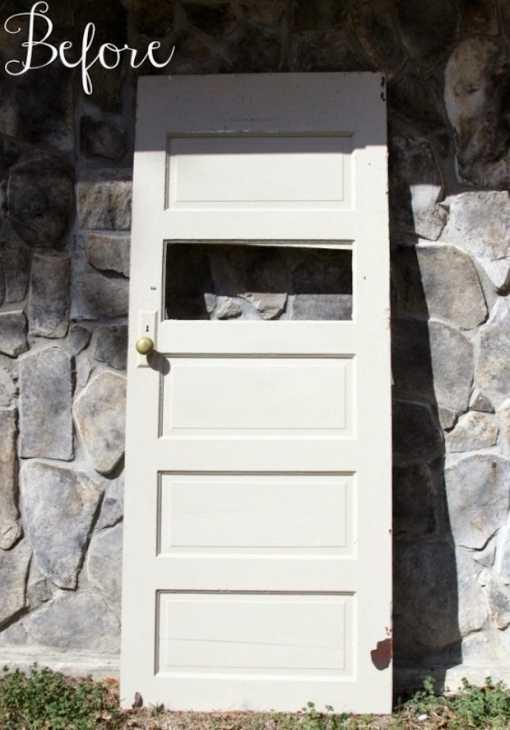 Riciclo vecchia porta in lavagna, da revolutionariesmarket.com