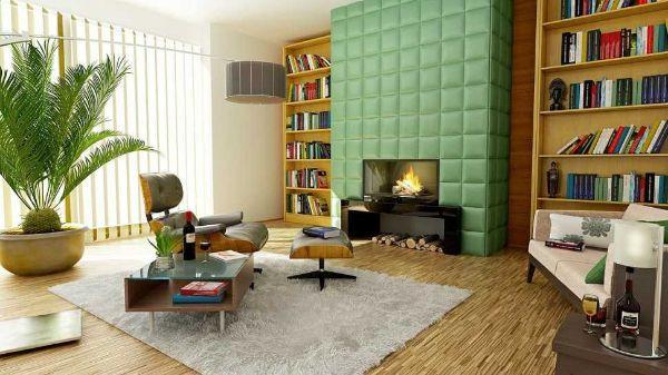 Organizzare la zona relax e conversazione intorno ad un punto focale