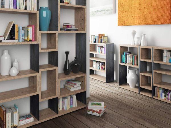 Libreria Concrete di Zava Luce