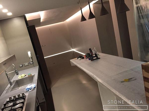 Rinnovare pavimento con resina autolivellante - Stone Italia