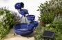 Fontane solari da giardino modello Zen, ilportaledelsole.com