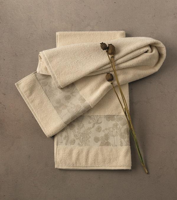 Gli asciugamani della linea Naturae di Gabel 1957