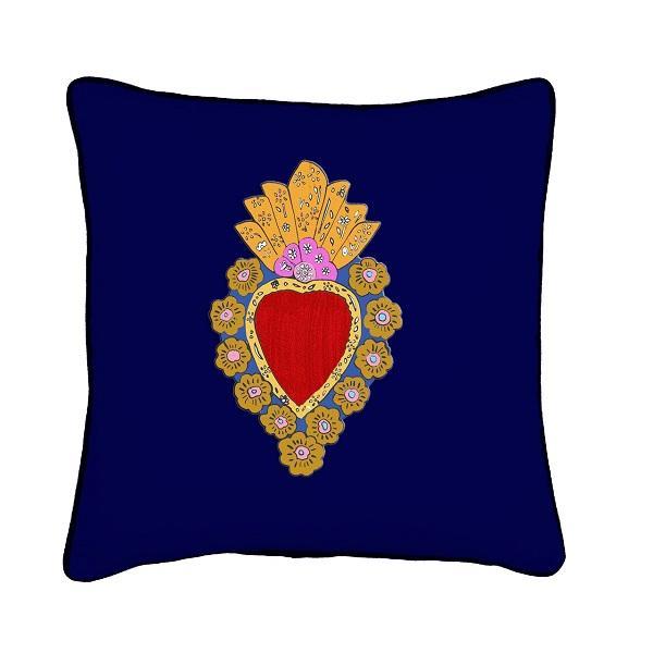 Ispirazione messicana per il cuscino Jessica Russell Flint
