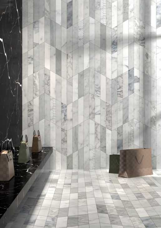 Accostamento pavimenti marmo - Dedalo Montillo Marmi