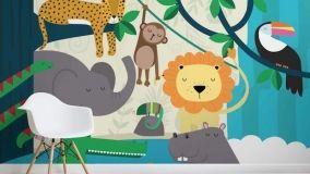 Carta da parati per bambini: nuovo look alla cameretta