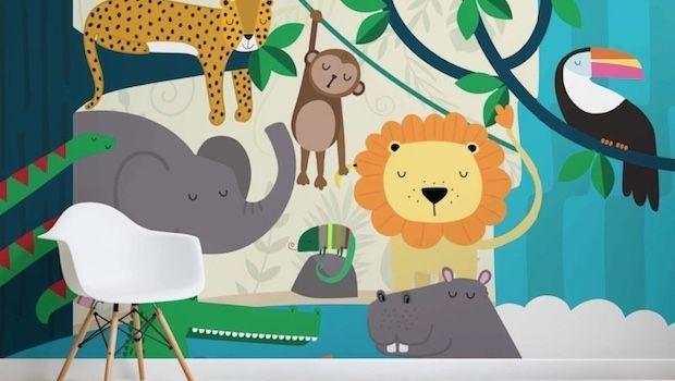 Carta Da Parati Bambini Texture.Carta Da Parati Per Bambini