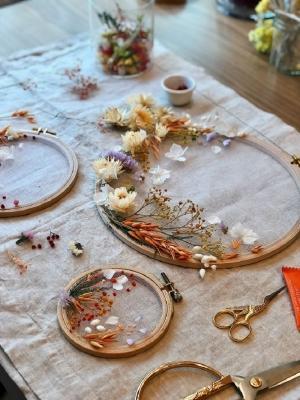 La grande versatilità dei fiori secchi, da flower.decorationdiy.site