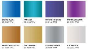 Colori metallici Pantone: una novità perfetta per l'interior design