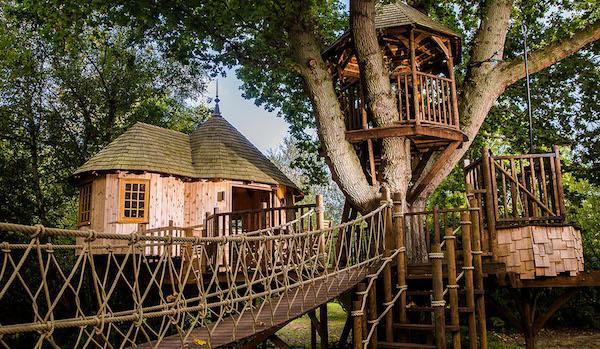 Casa sull'albero Timbertop Hangouts - Progetto e foto by Blue Forest
