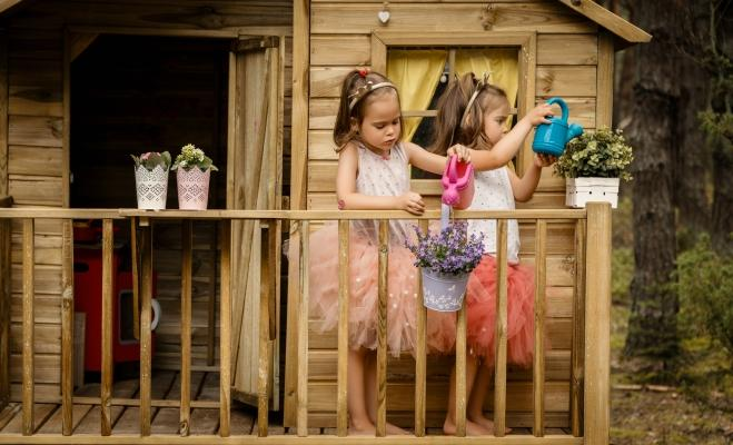 Casa sull'albero per bambini