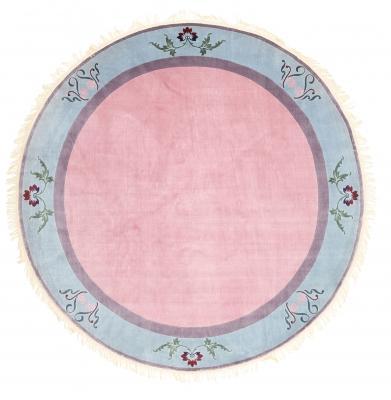 Tappeto cinese in seta di forma rotonda - Foto by CarpetVista