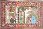 Tappeto orientale antico Keshan in lana di-pecora - Foto by Nain Trading