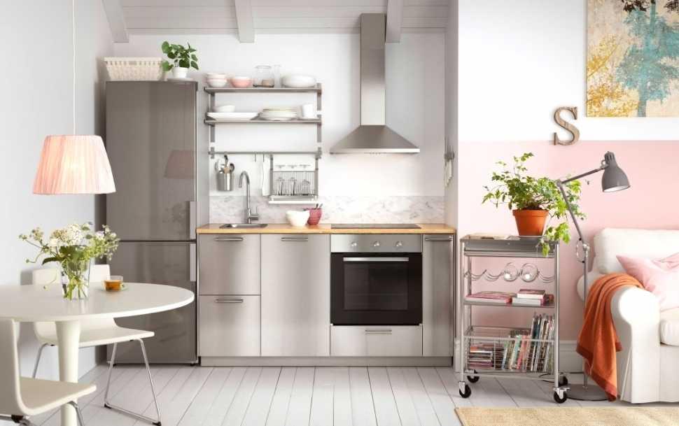 Piccolo angolo cottura in soggiorno - Ikea