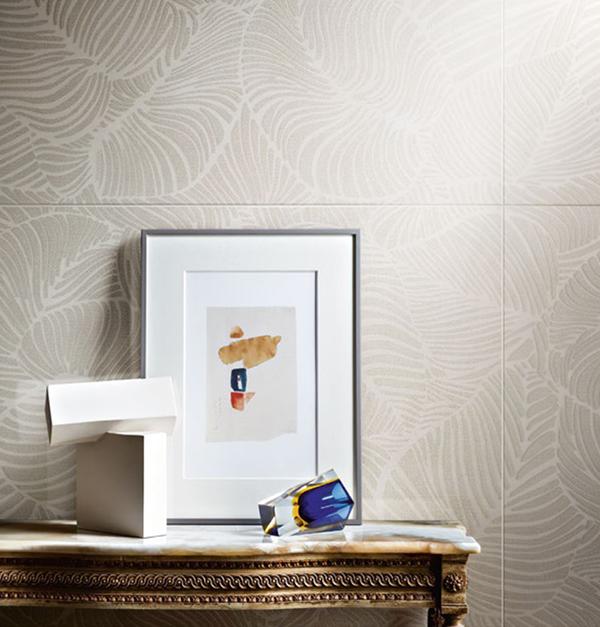 Piastrelle effetto carta da parati moderna Ceramiche Piemme