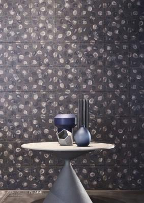 Piastrelle casa effetto carta da parati Ceramiche Piemme by Guillaumier
