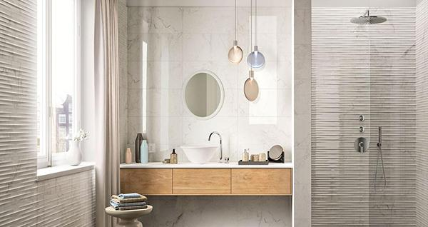 Gres effetto marmo beige Marazzi Elegance
