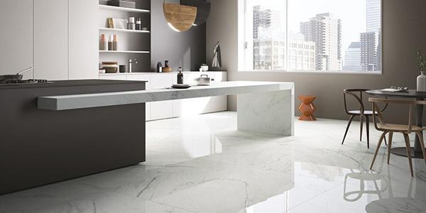 Grès effetto marmo bianco Fiandre