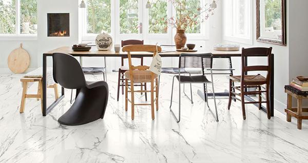 Gres effetto marmo bianco Marazzi design