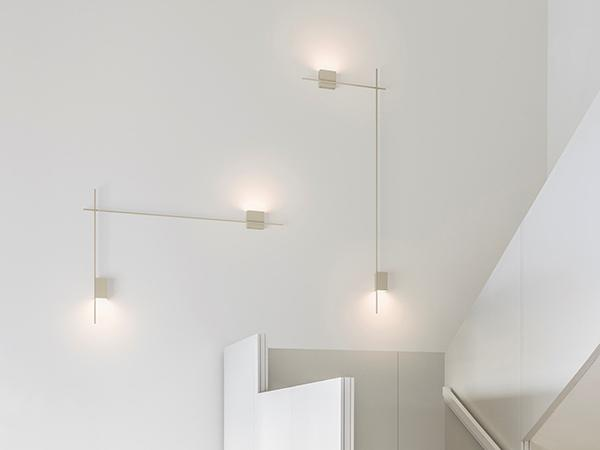 Applique set luci led Structural di Vibia