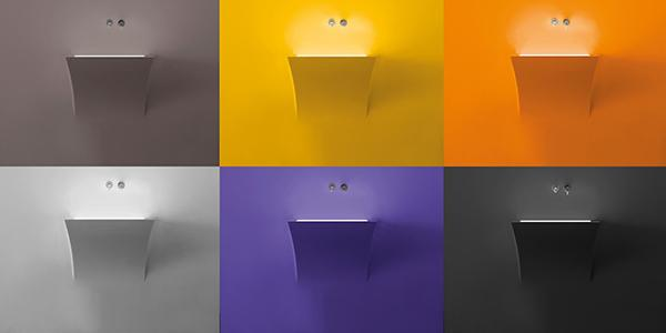 Luci led lavabo colors Antonio Lupi Design