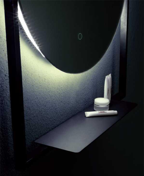 Specchio illuminazione led cassiopea Vanita?&casa