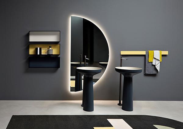Specchio led illuminazione Antonio Lupi Design
