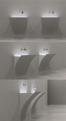 Lavabo con lampada led Antonio lupi design