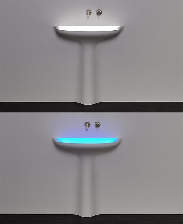Led luci lavabo Antonio Luci design